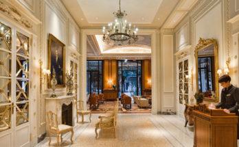 7. Thiết kế sảnh trong thiết kế kiến trúc khách sạn.ảnh 1